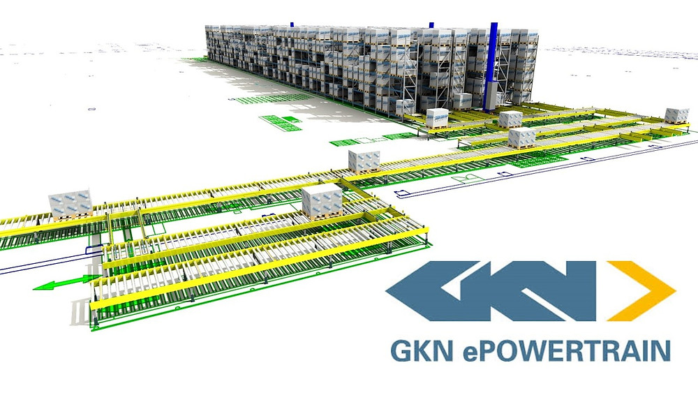 Flödessimulering av GKNs kranlager i Köping - Sim Logistics AB.