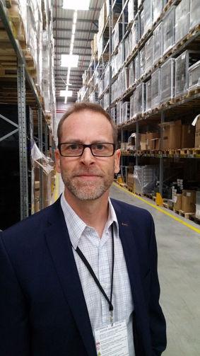 Sim Logistics' engaged founder, MD and logistics consultant Magnus Jarnekrantz.