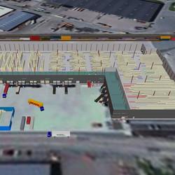 Sim Logistics - Warehouse view 2