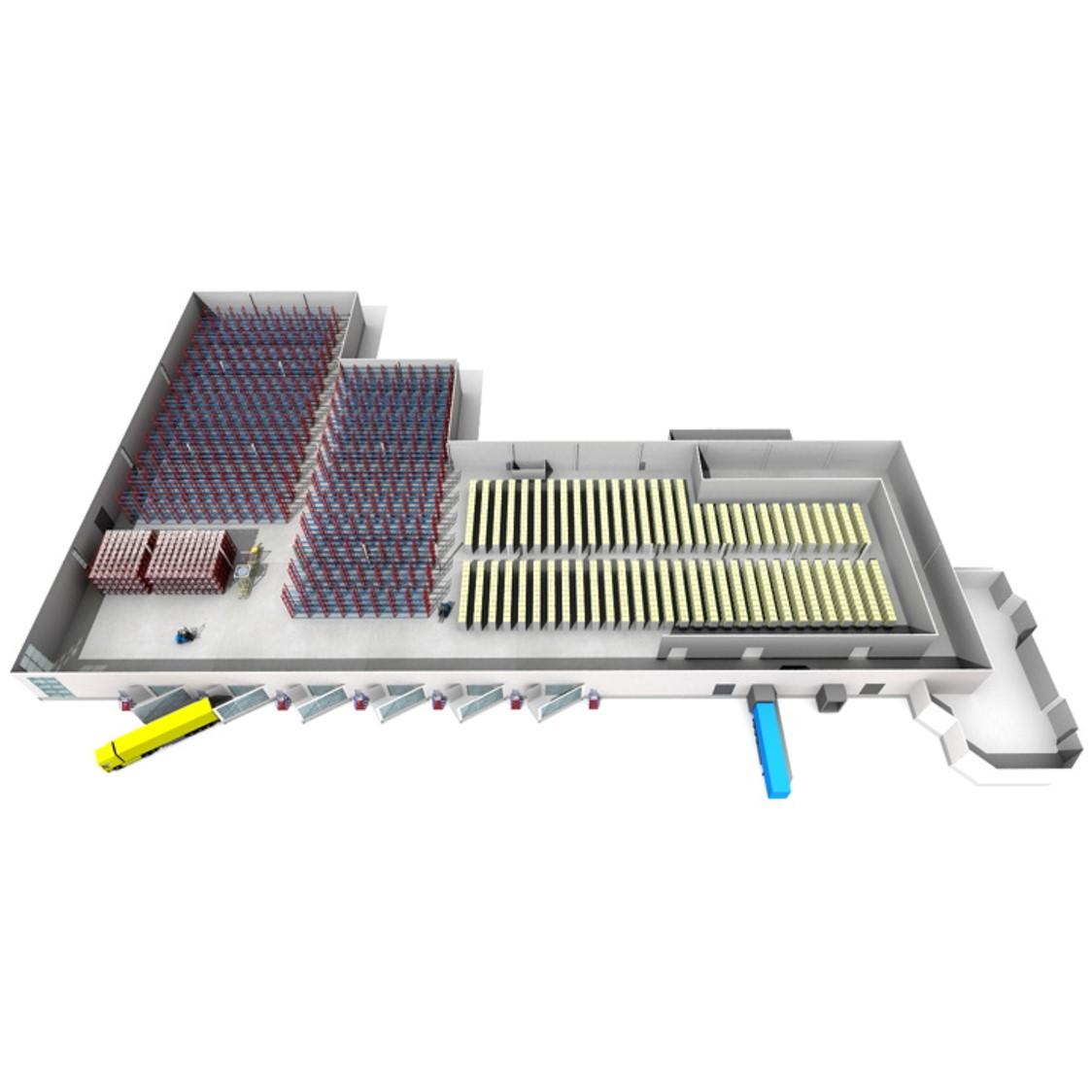 Sim Logistics - Warehouse 3D vis.