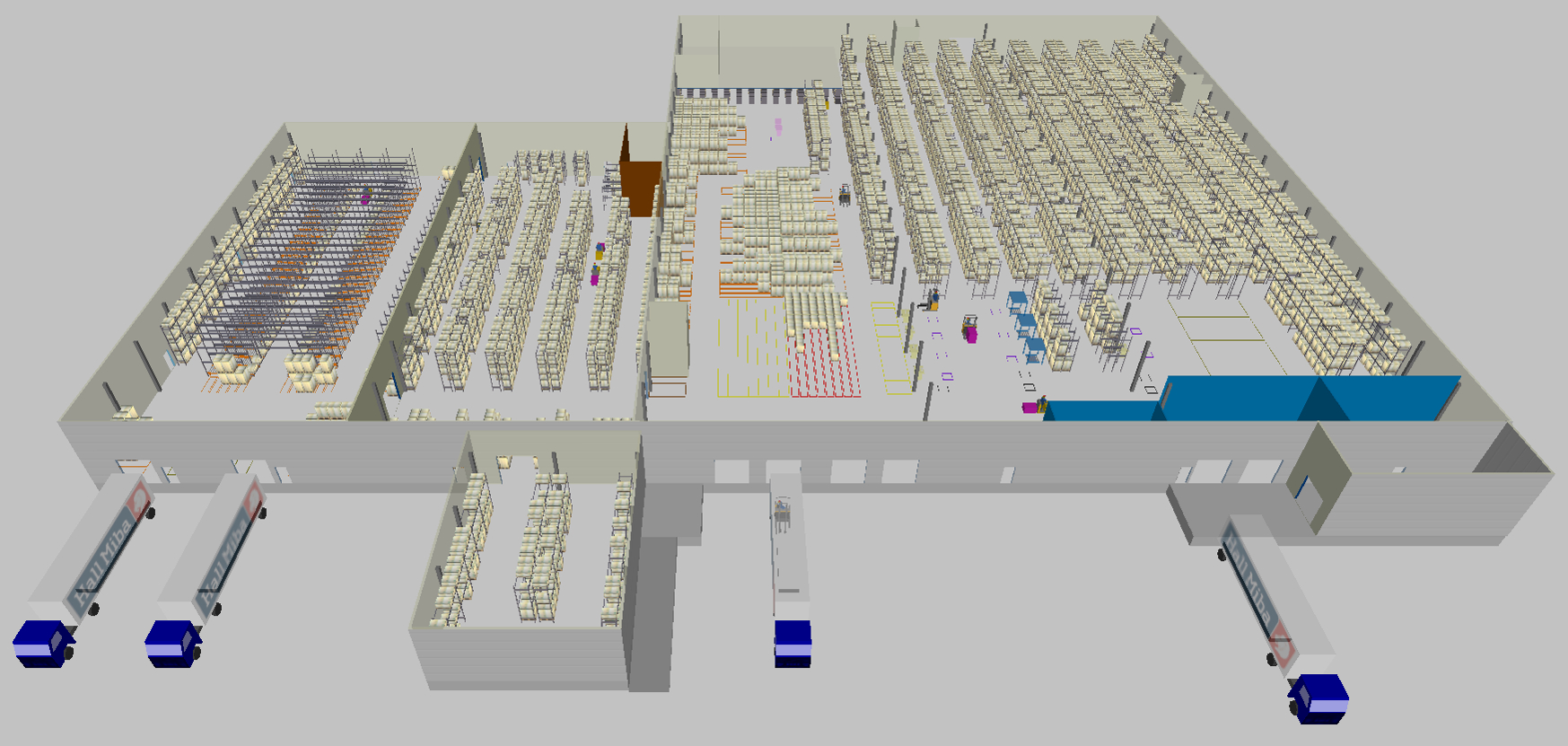 Sim Logistics - Warehouse Simulation