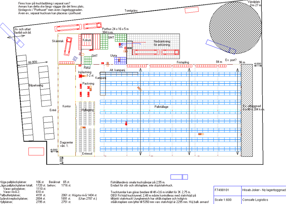 Sim Logistics - Warehouse Layout Ex.