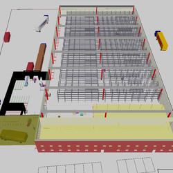 Sim Logistics - Warehouse view 1
