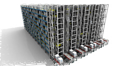 Sim Logistics - Box Shuttle System