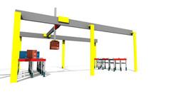 Sim Logistics - Area Gantry Robot