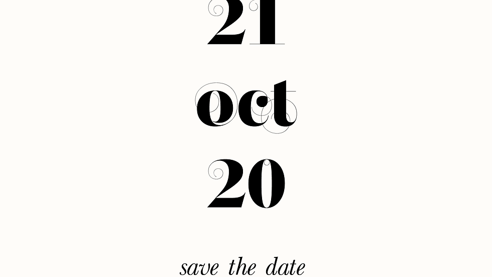 Diana - Save the date