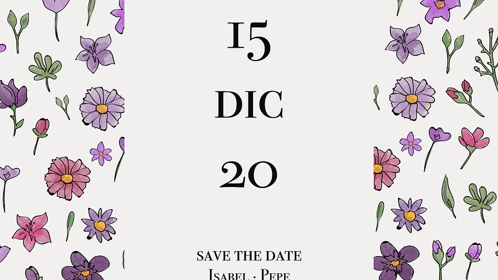 Isabel II - Save the date