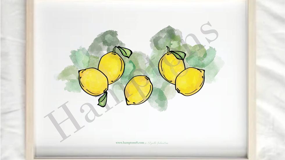 Lamina Limones Murcia