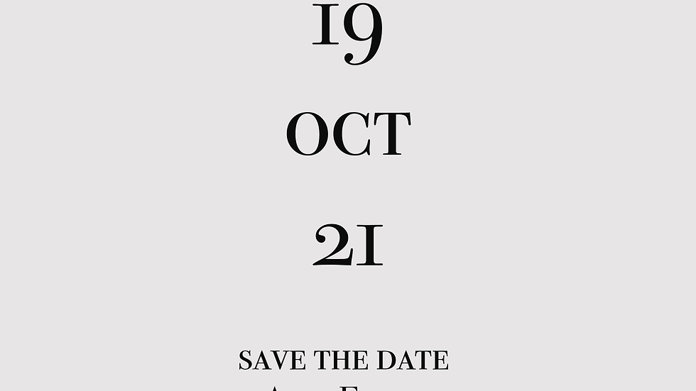 Ana - Save the date