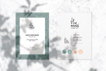 save the date + branding