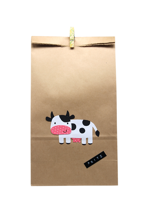 Bauernhof Kuh