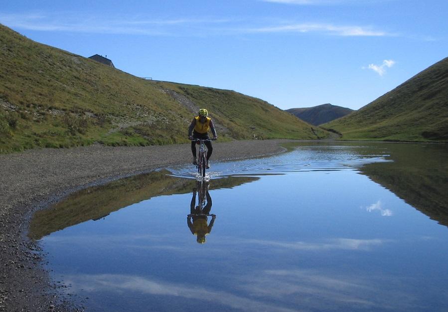 Scaffaiolo Lake -MTB