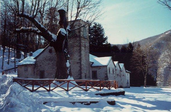 Madonna dell Acero con la neve