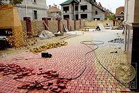 Укладка тротуарной плитки в Омске
