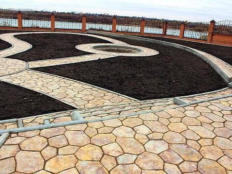 Уложить тротуарную плитку в Омске