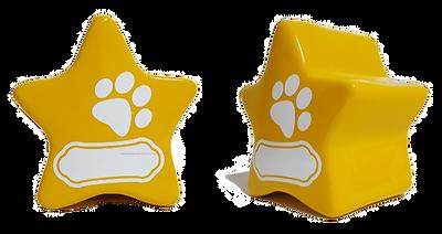urna estrella amarilla eternal cremacion de mascotas