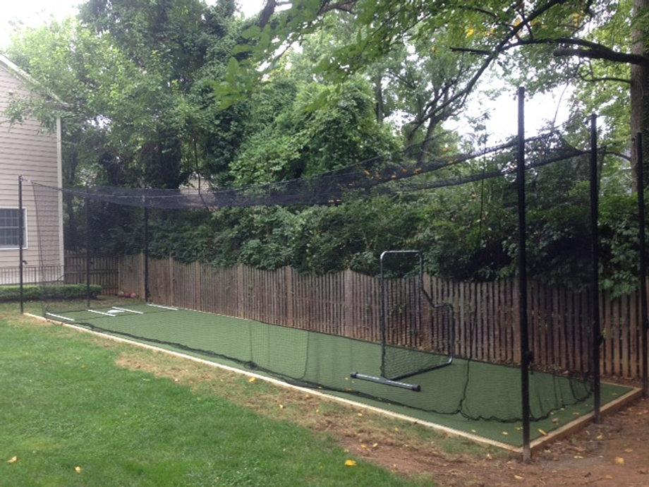 Awesome Backyard Baseball Batting Cages · Backyard Baseball Batting Cages Photo Gallery