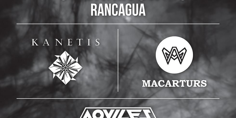 Aqviles en Vivo en Rancagua