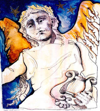 Mainerist Angel  / grave angel series