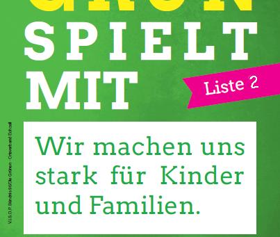 GRÜN SPIELT MIT!