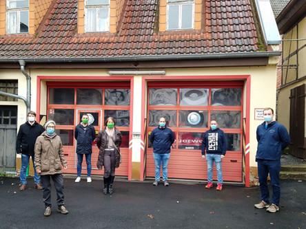 Echzeller Grüne treffen sich mit FFW Bingenheim