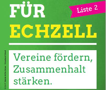 VEREINT FÜR ECHZELL!
