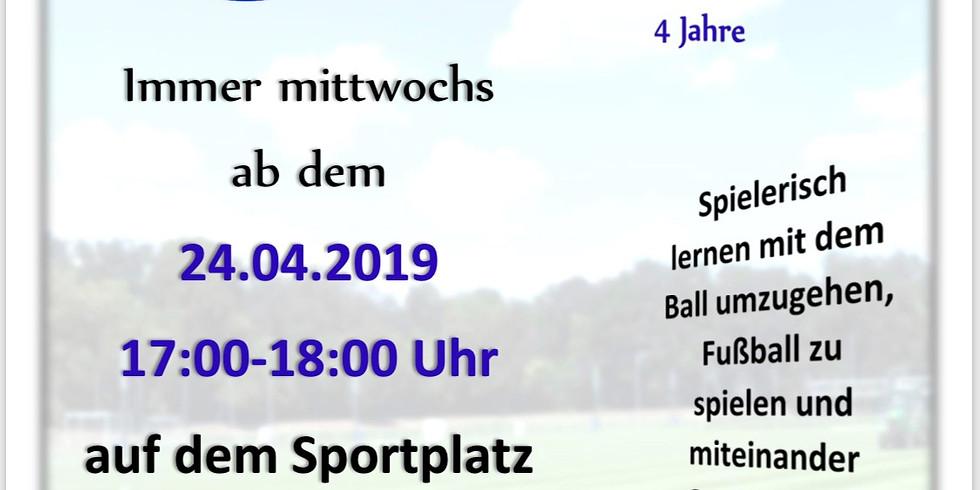 Bambini-Training ab 24. April 2019!