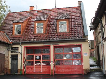 Pressemitteilung: Feuerwehrgerätehaus Bingenheim