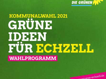 Wahlprogramm Kommunalwahl 2021