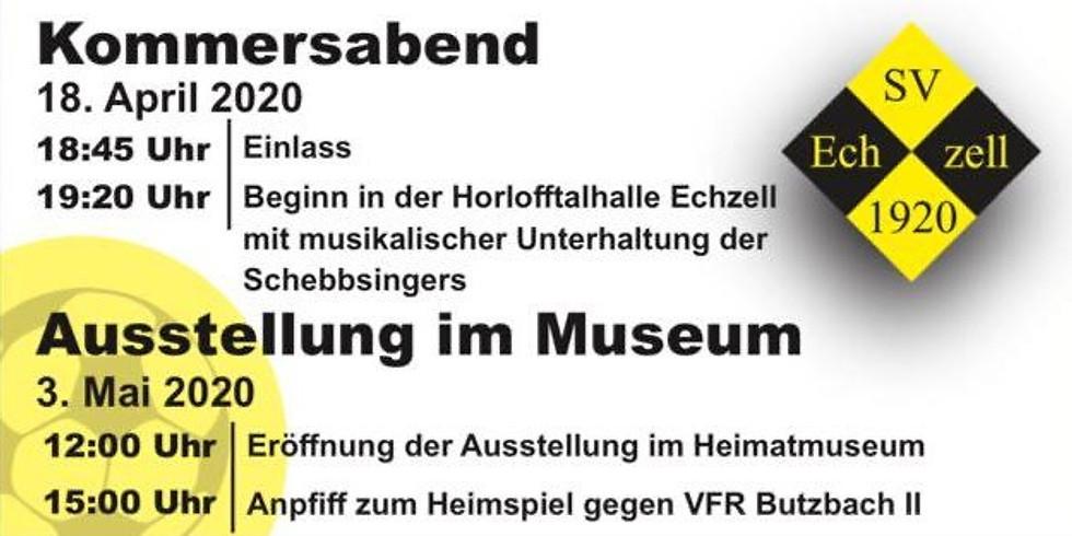 100 Jahre SV Echzell - Eröffnung Museumsausstellung