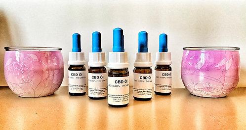 CBD Öl - Vollspektrumöl (Aromaöl) 10 ml