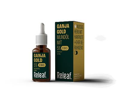 GANJA Gold CBD-Mündöl