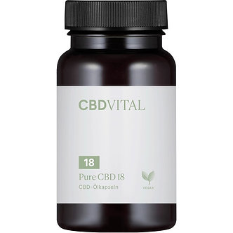 CBD Vital PURE CBD 18 (10%) Kapseln - 60 Stk.