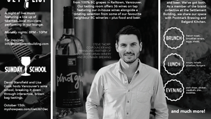 Urban Winery Pamphlet