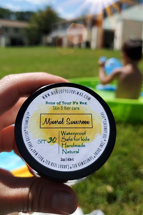 Natural Sunscreen SPF30