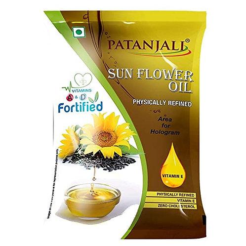 PATANJALI SUNFLOWER OIL - 1 ltr