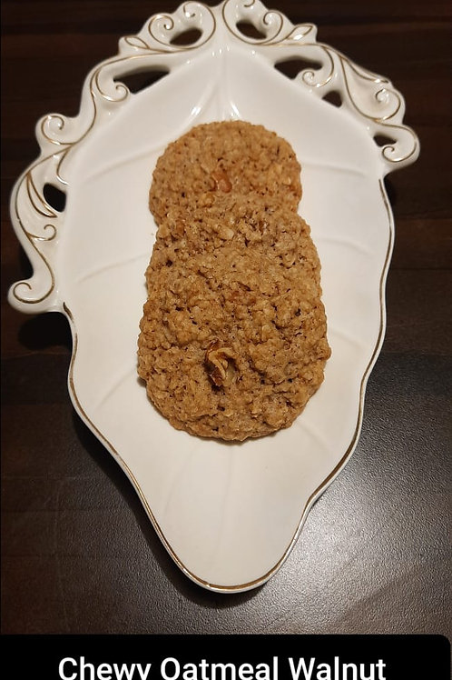 Chewy Walnut Oatmeal Cookies / 1kg