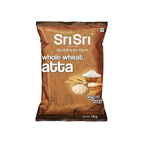 SRI SRI WHEAT ATTA-5kg