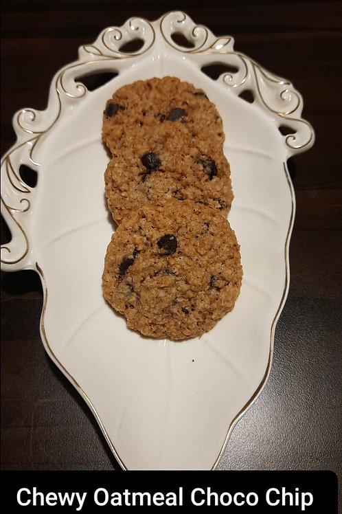 Chewy Choco chunk Oatmeal Cookies / 1 kg