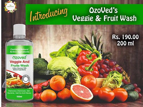 OZOVED Veggie & Fruit Cleanser - 200 ml