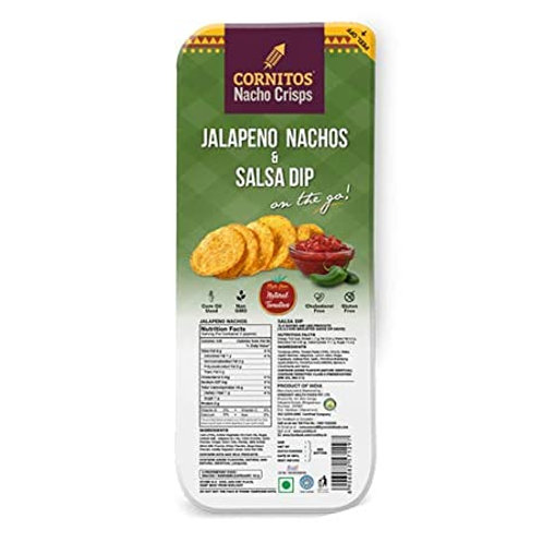 Jalapeno Nachos & Salsa Dip