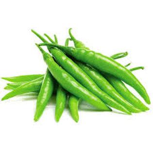 GREEN CHILLI - 200 gm.