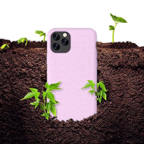 Case Para Iphone Ecologica Biodegradable Rosa