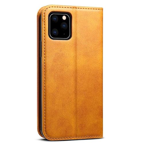 Case Para Iphone 12 Cartera Caramel