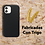 Thumbnail: Case Para Iphone Ecologica Biodegradable Negra
