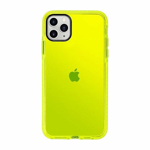 Case Para Iphone Neon Yellow