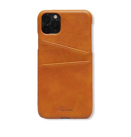 Case Para Iphone 12 Piel Caramel