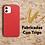 Thumbnail: Case Para Iphone Ecologica Biodegradable Rojo