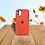 Thumbnail: Case Para Iphone  Rojo Intenso