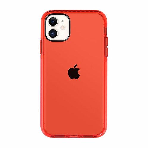 Case Para Iphone  Rojo Intenso